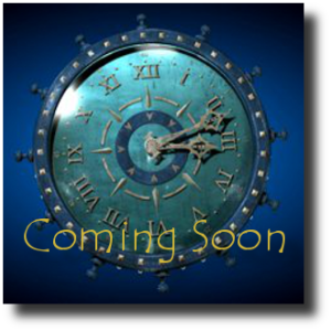 Coming Soon - Blue Clock