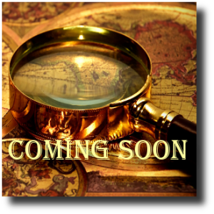 Coming Soon Magnifying Glass