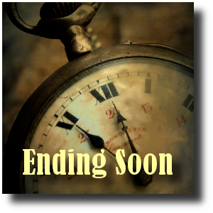 Clock Graphic - Ending Soon