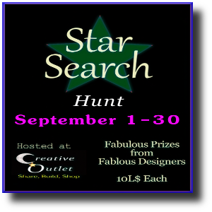 Star Search Hunt Poster - September