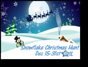 HUNT SL Snowflake Christmas Hunt