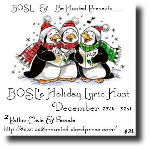 HUNT SL BOSL's Holiday Lyric Hunt