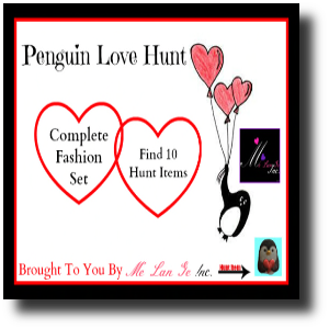 Penguin Love Hunt Ad