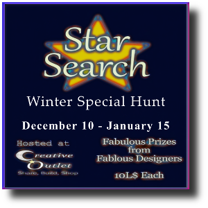 Star Search Hunt Poster - Winter Edition