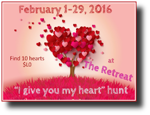 HUNT SL I give you my heart hunt