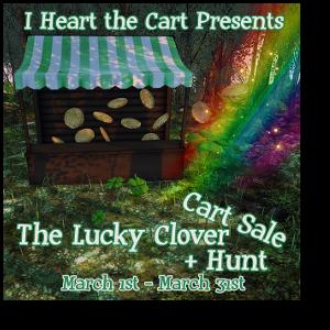 HUNT SL The Lucky Clover Cart Sale + Hunt