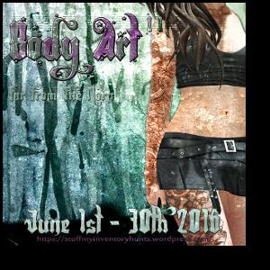 HUNT SL Body Art II Hunt