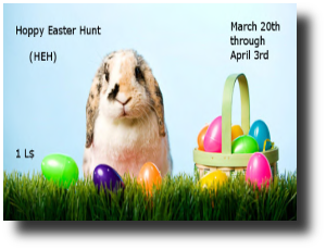HUNT SL Hoppy Easter Hunt