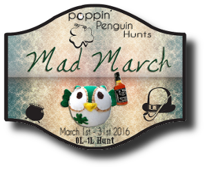 HUNT SL Poppin Penguin Mad March