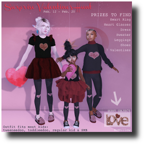HUNT SL Surprise Valentine's Hunt