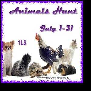 animals hunt logo