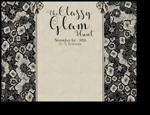 Classy glam hunt