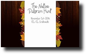 native pilgrim hunt